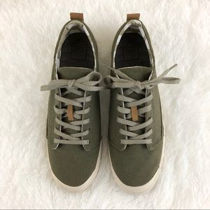 Reef Olive Walled Low Sneaker